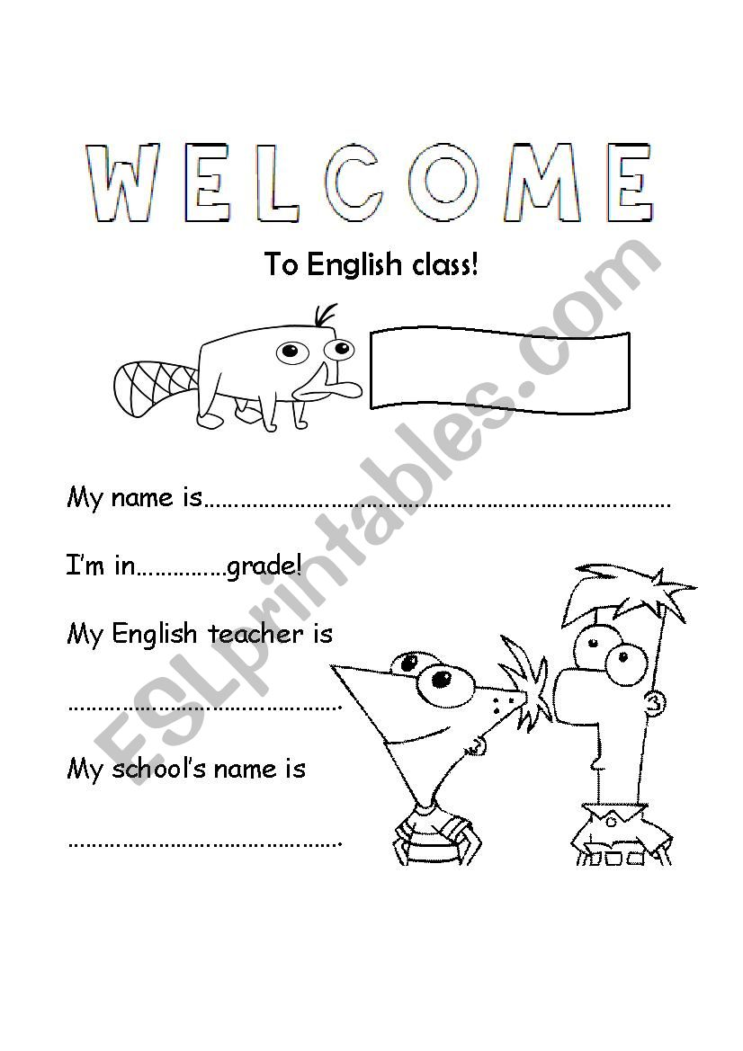 English notebook cover - ESL worksheet by lauravillagra