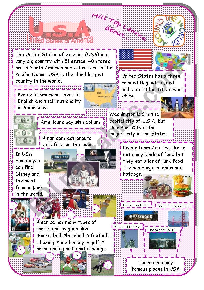USA - an introduction to the country