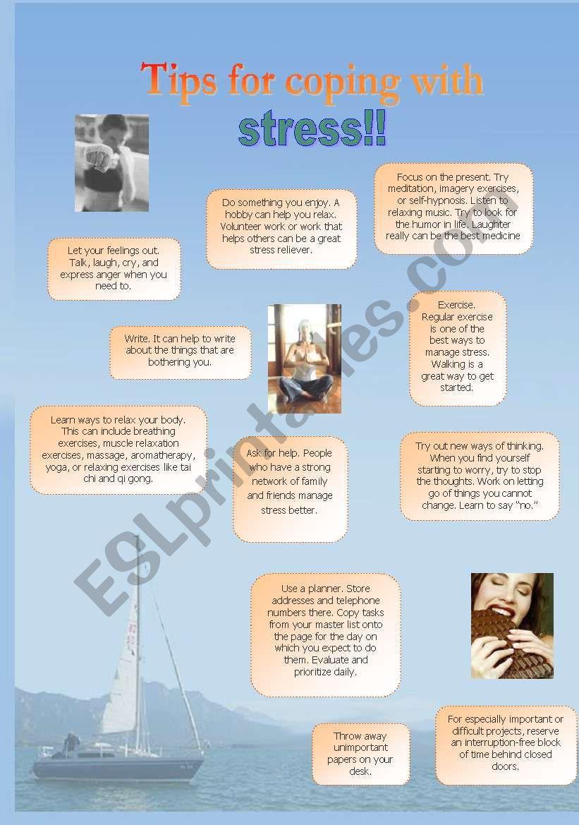 Stress!! (part2) (29.07.08) worksheet