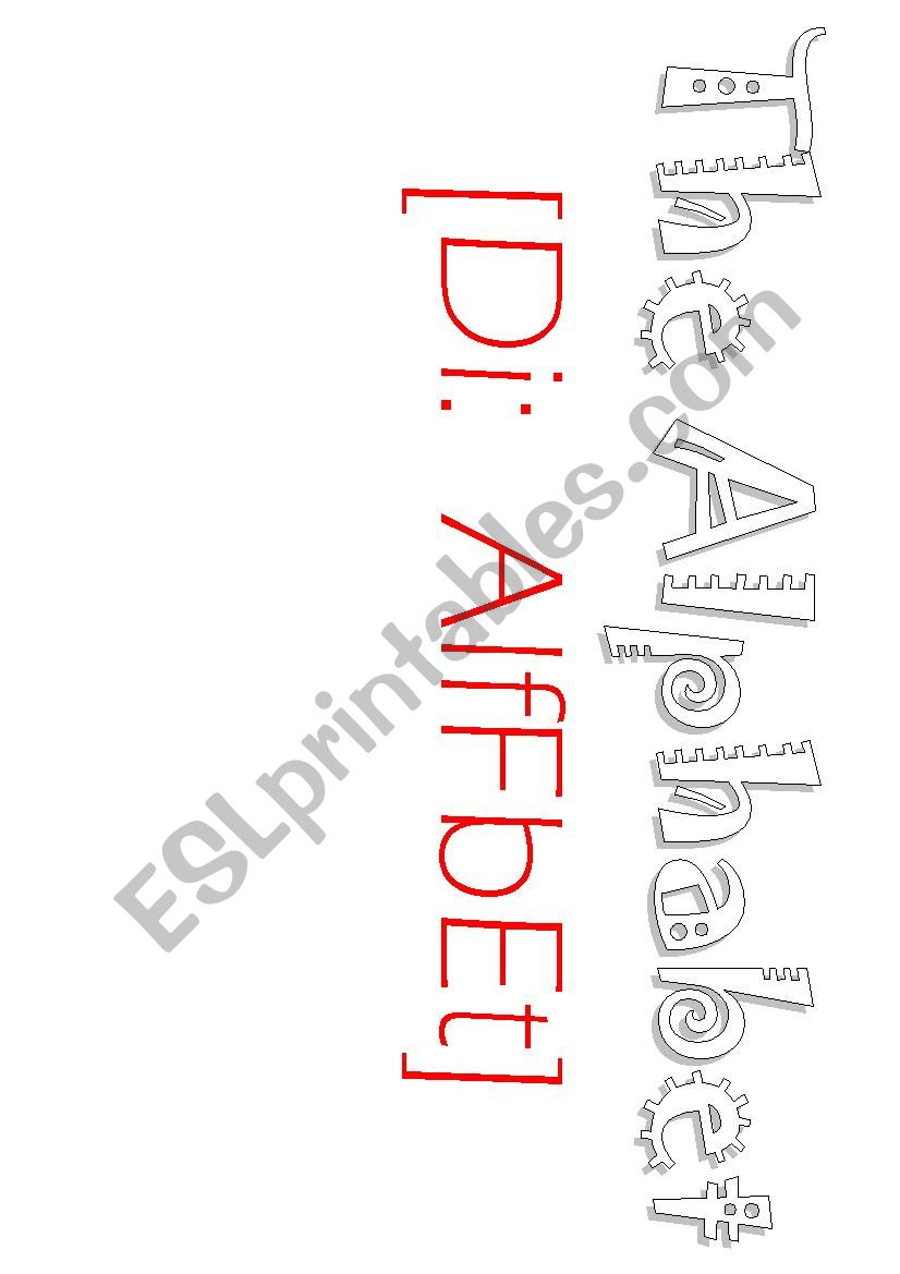 Alphabet With Ipa Pronunciation Posters Esl Worksheet By Msricard