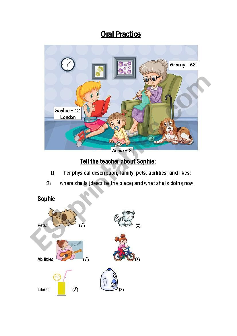 Oral Practice, describing pictures (Part 2)