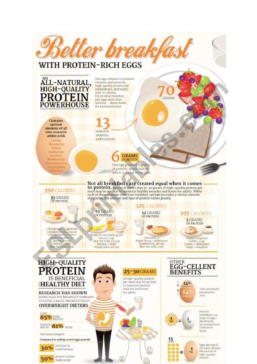 eggs worksheet