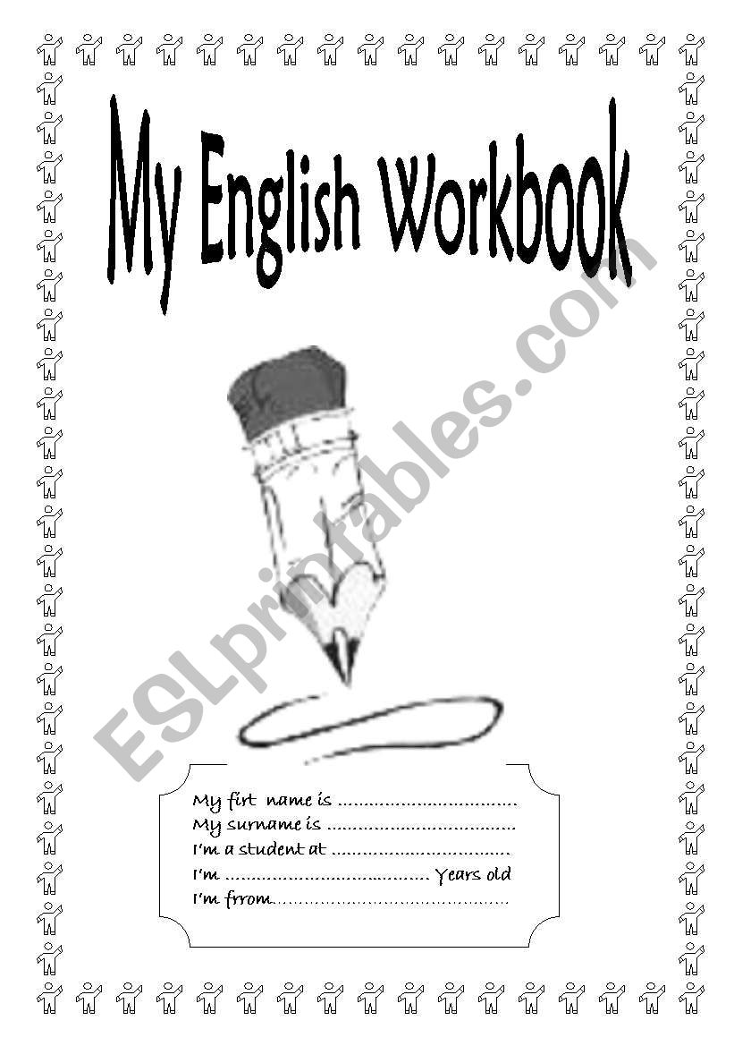 Cover Page worksheet