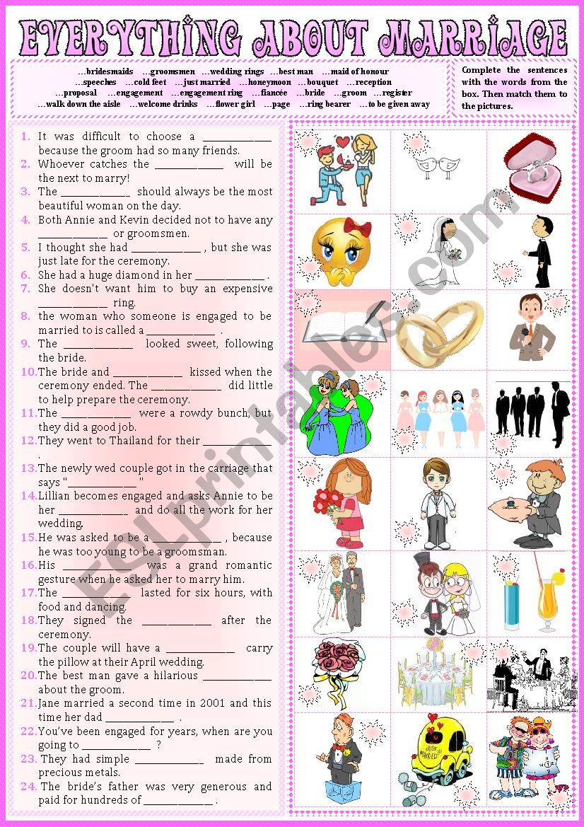 Everything about MARRIAGE 2 + KEY