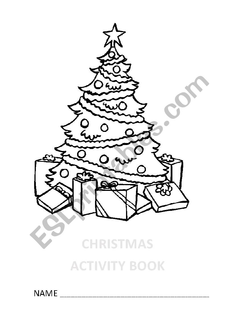 Christmas Activity Book worksheet