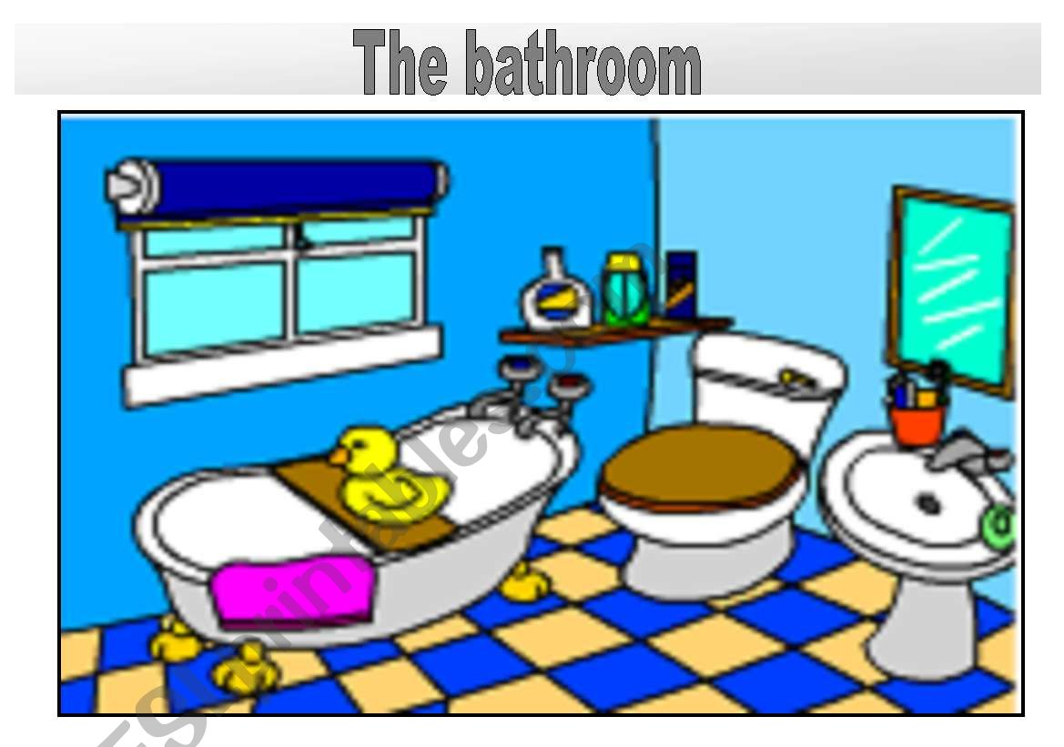 Rooms In The House Vocabulary