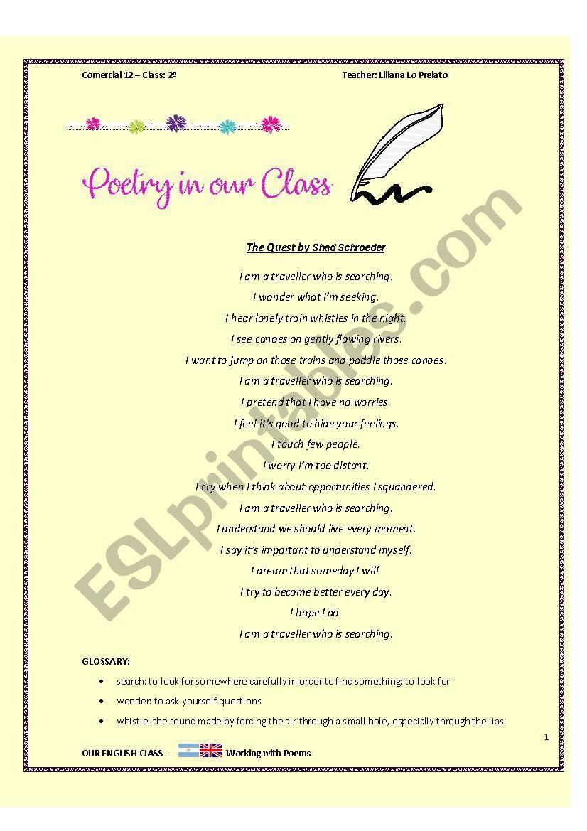 simple present tense poem esl worksheet by lili62. Black Bedroom Furniture Sets. Home Design Ideas