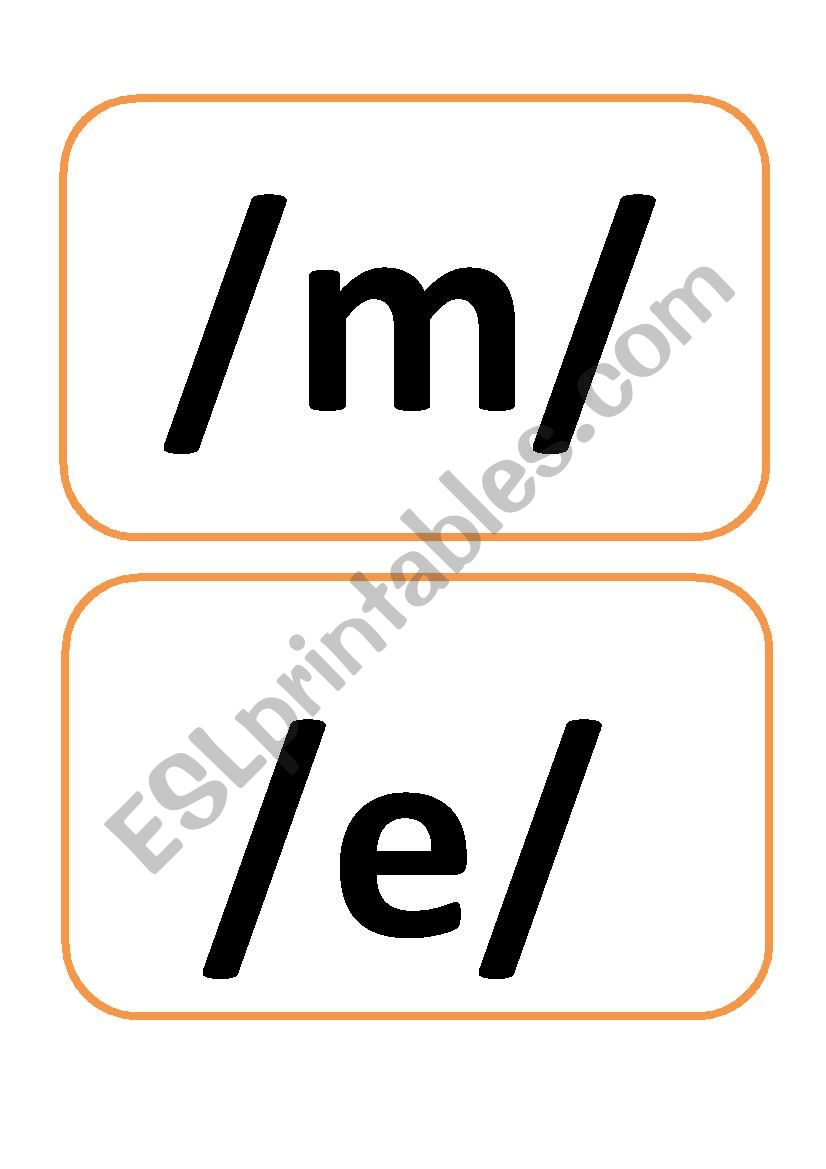 phonetic worksheet