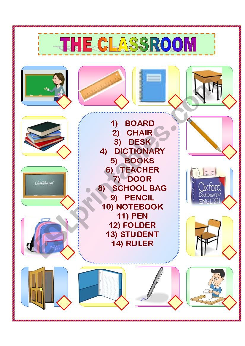 THECLASSROOM worksheet