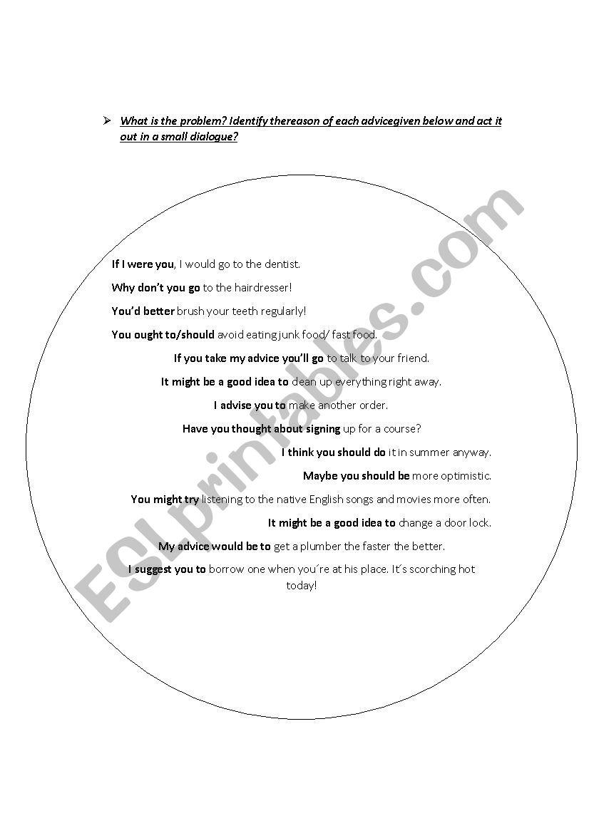 Problem Hunt worksheet