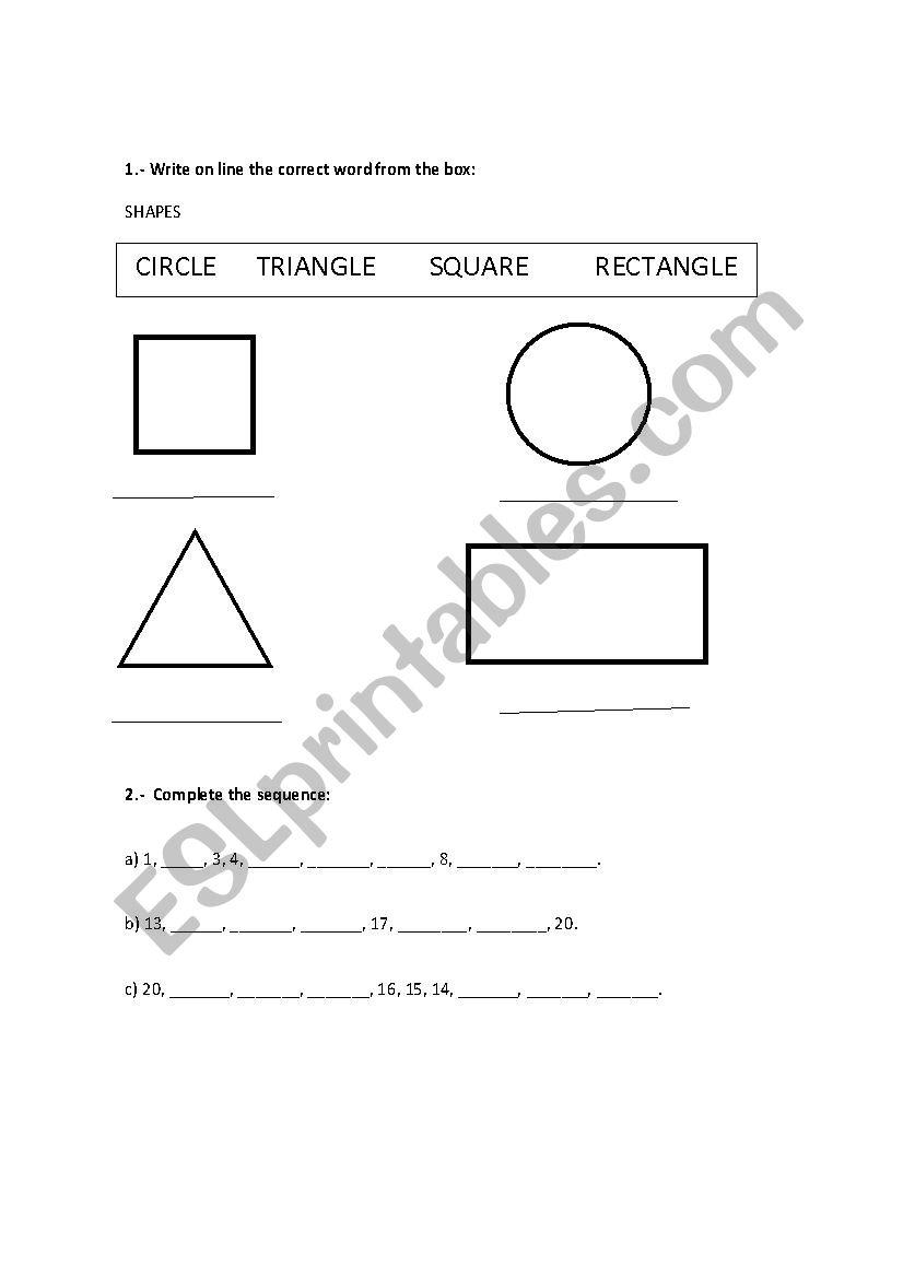 - DIAGNOSTIC EXAM FIRST GRADE - ESL Worksheet By Marianiux