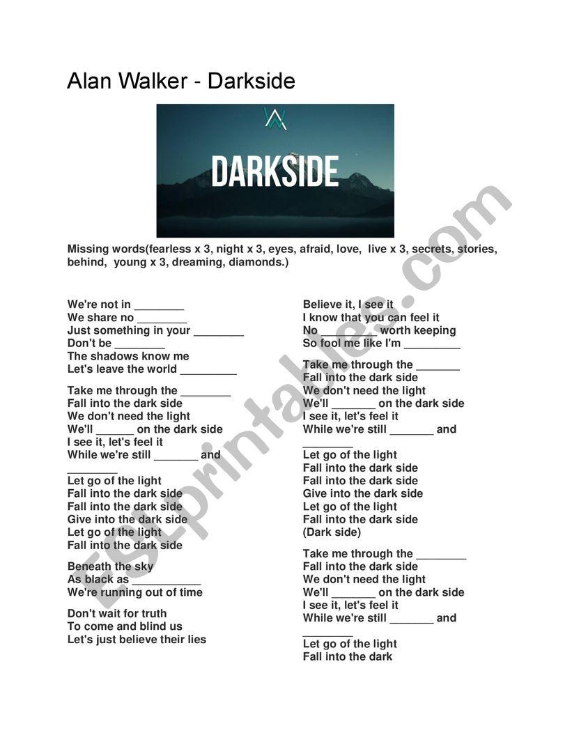 Alan Walker Darkside Mp3 Download Free