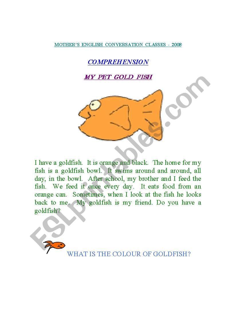 Reading Comprehension(14thAugust2008)