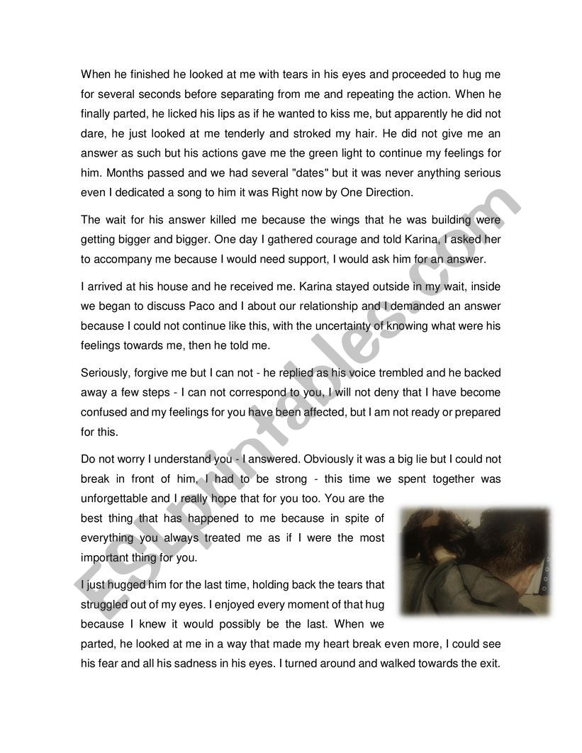 A meaningful story - ESL worksheet by CarlosPinedaG