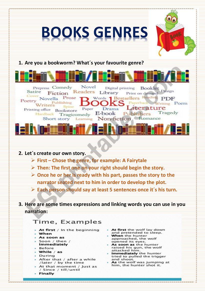 Books Esl Worksheet By Muhara