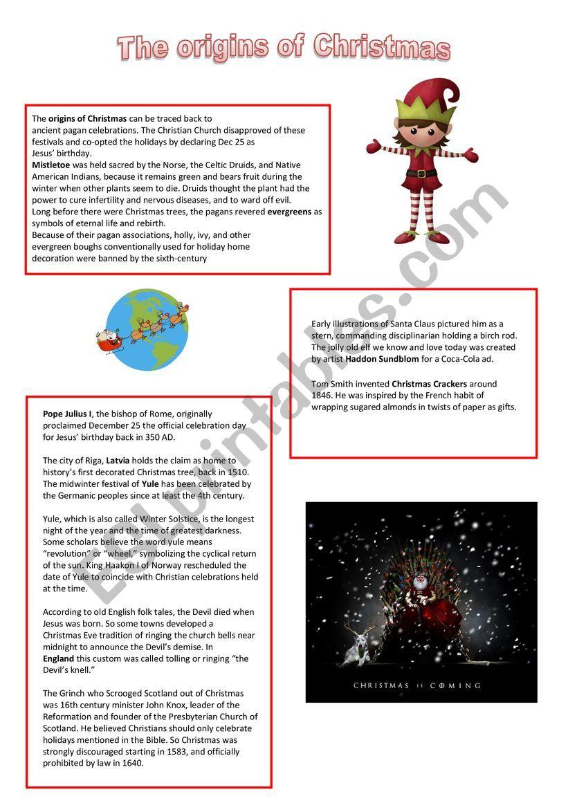 ESL worksheet