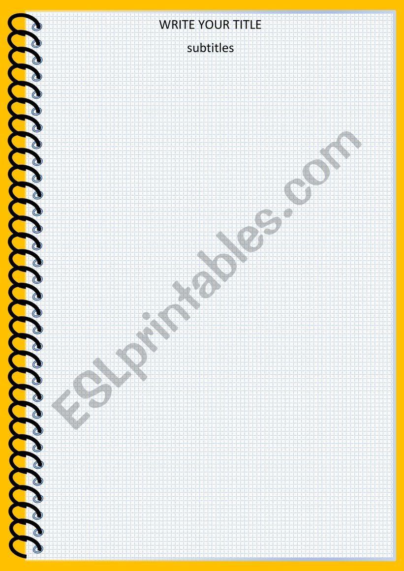 TEMPLATE worksheet