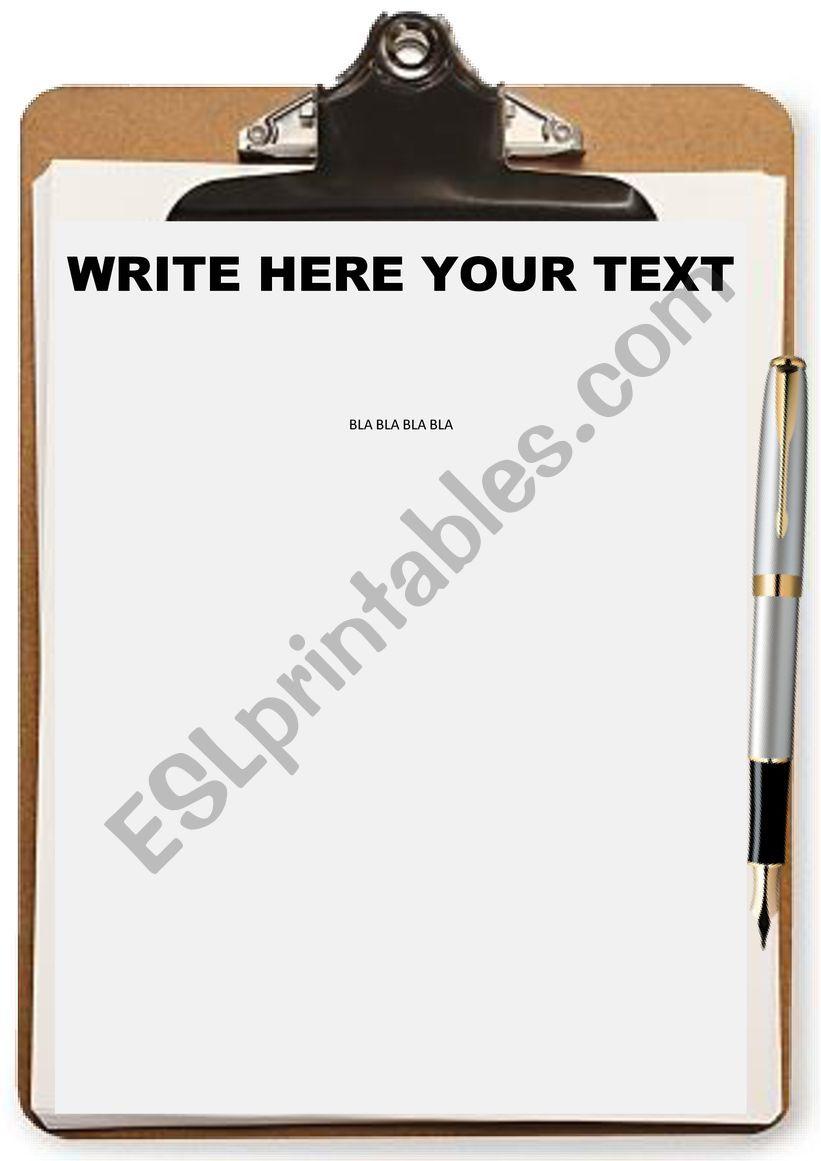 TEMPLATE (EDITABLE) worksheet
