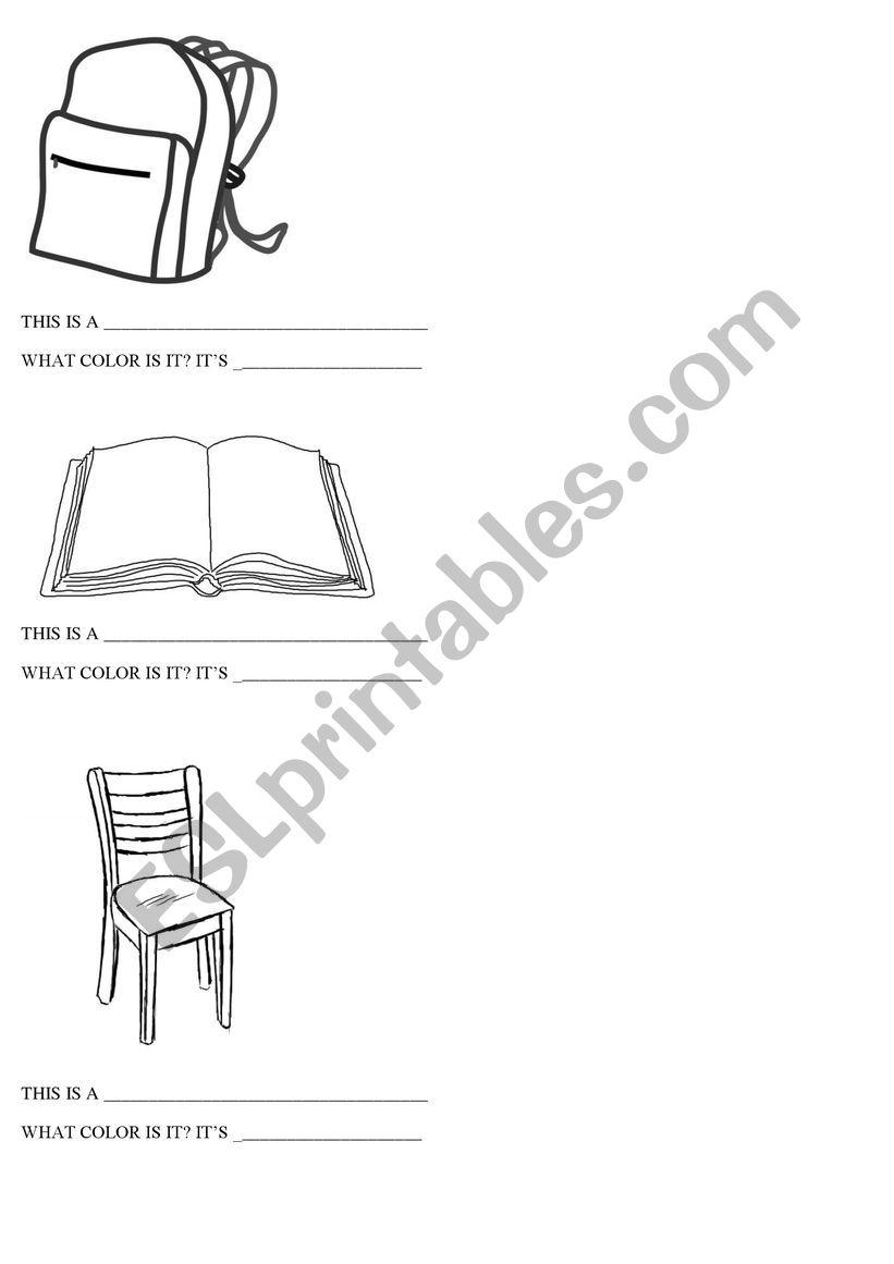 This is...? worksheet