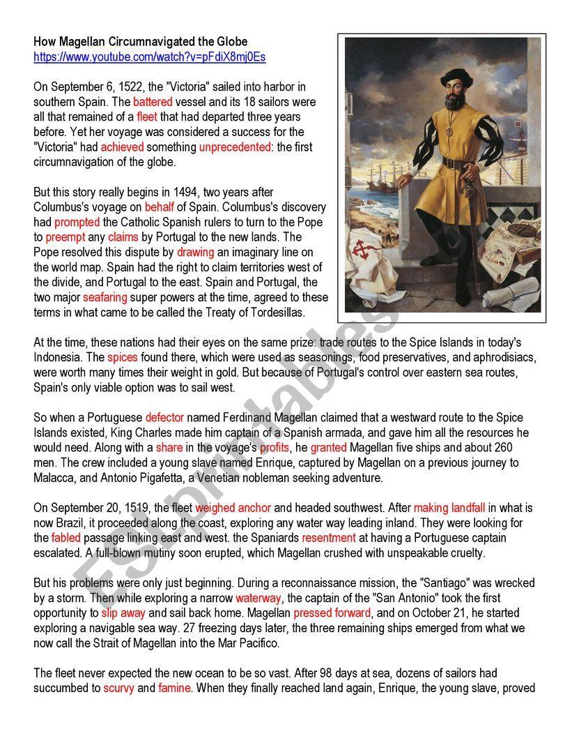 How Magellan Circumnavigated the Globe