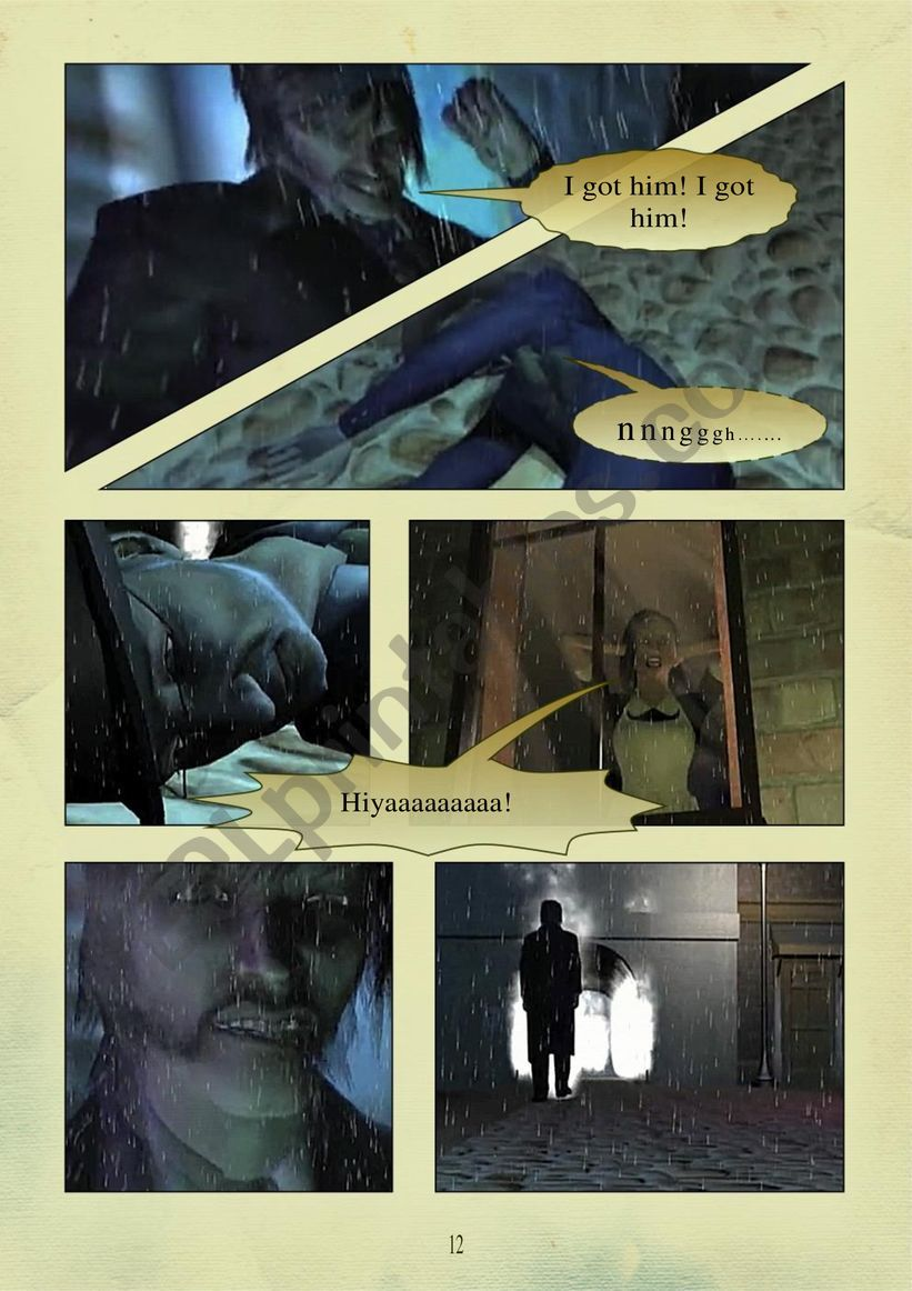 THE STORY OF DR. JEKYLL and MR. HYDE PART 2.  page 7 of 10