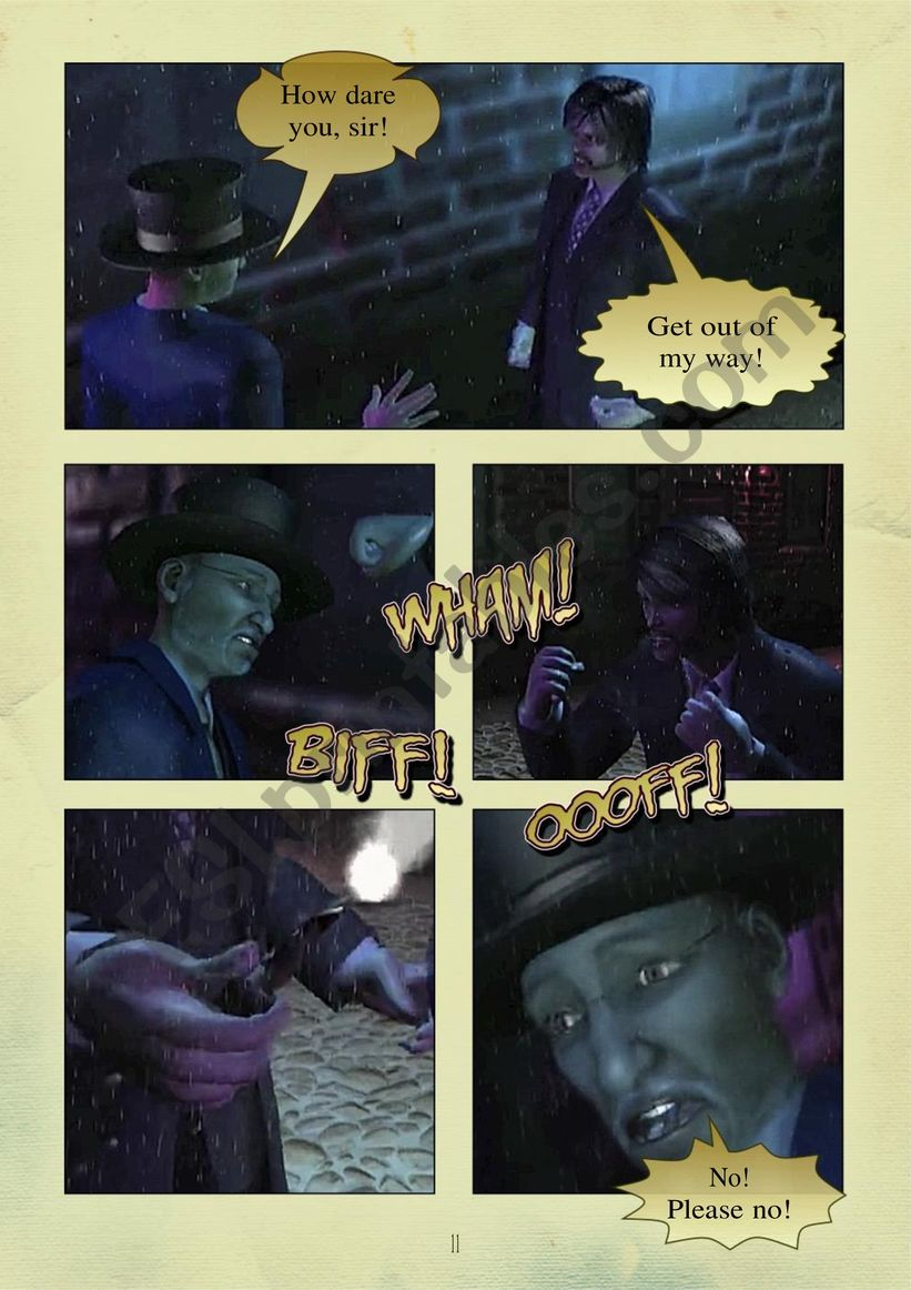 THE STORY OF DR. JEKYLL and MR. HYDE PART 2.  page 6 of 10