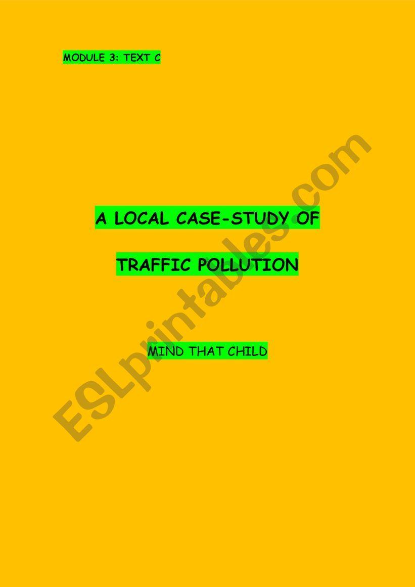 Module 3 text C - Traffic Pollution
