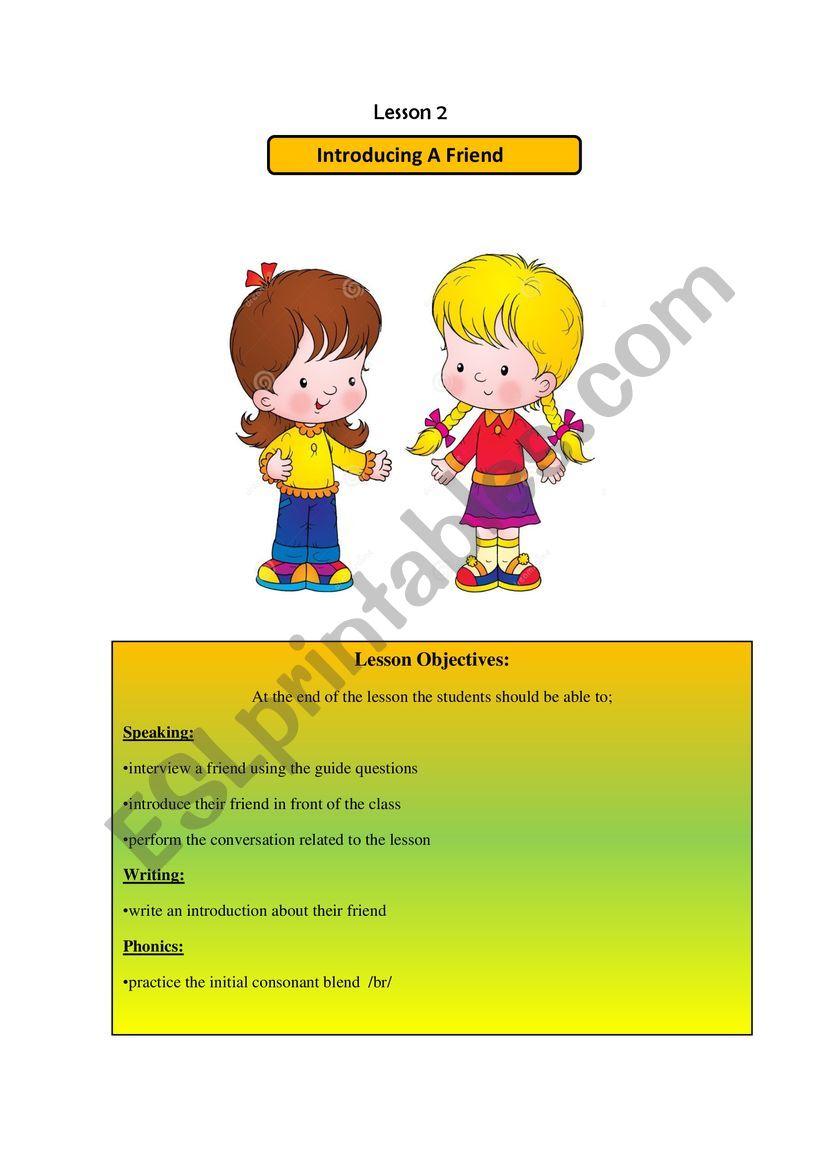 secondary level worksheet