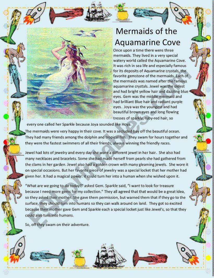 The Mermaids of the Aquamarine Cove