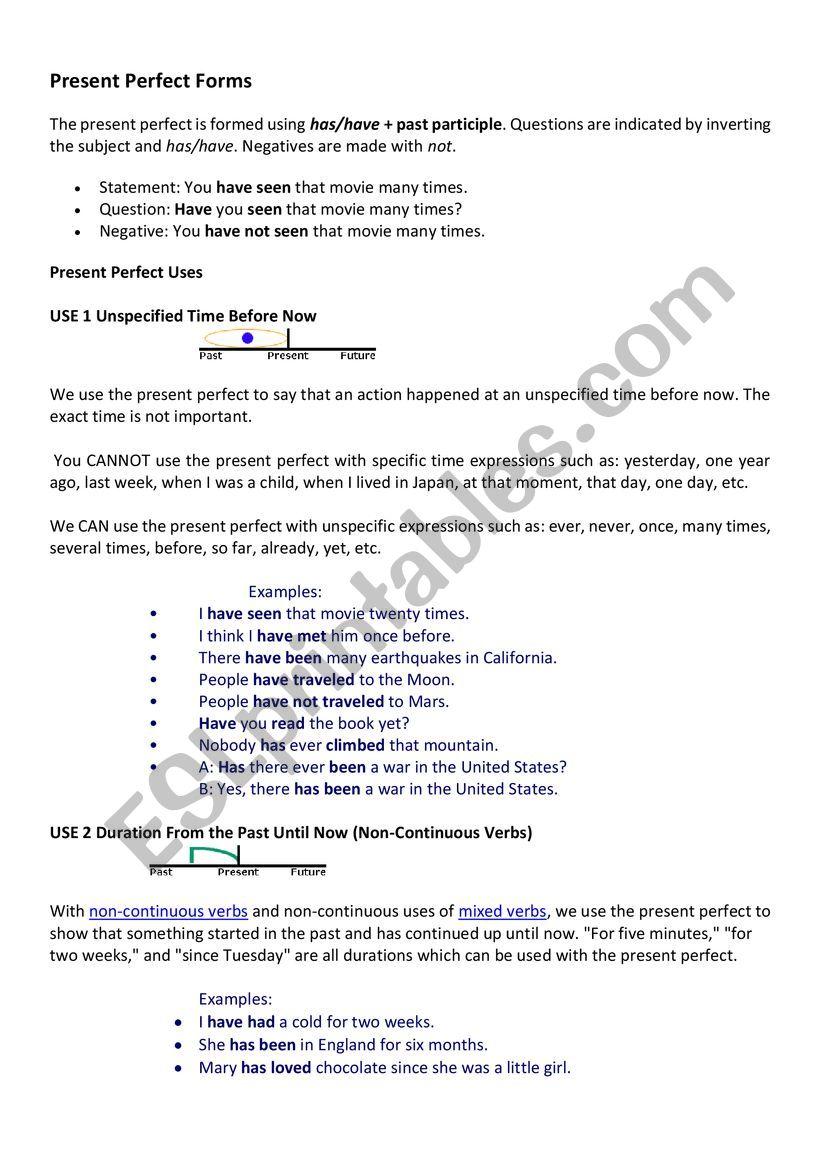 Intermediate beginner lesson  worksheet