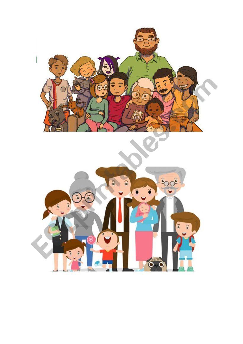 the family worksheet