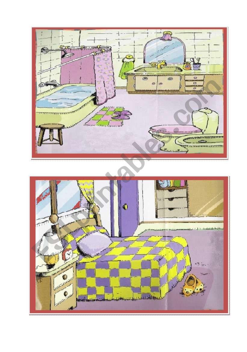 House Flashcards 1 worksheet
