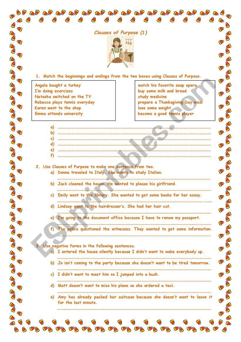 Clauses-of-purpose-grammar-drills