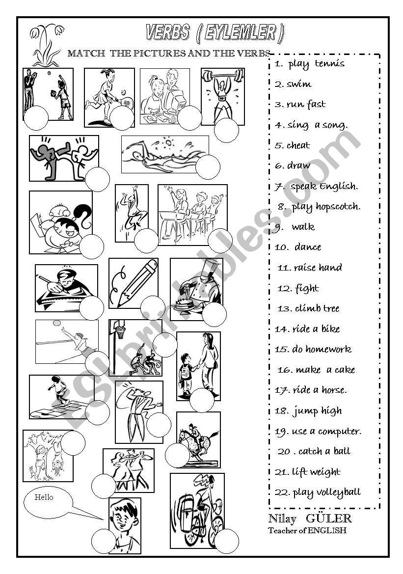 some actions worksheet