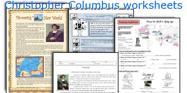 English teaching worksheets Christopher Columbus – Christopher Columbus Worksheets
