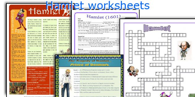 English teaching worksheets Hamlet – Hamlet Worksheets