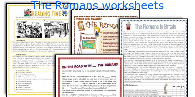 English teaching worksheets The Romans – Ancient Rome Worksheets