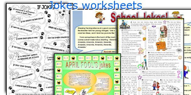 Jokes worksheets