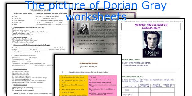 essay questions picture dorian gray Full glossary for the picture of dorian gray essay questions cite this literature note × back to top adam bede has been.