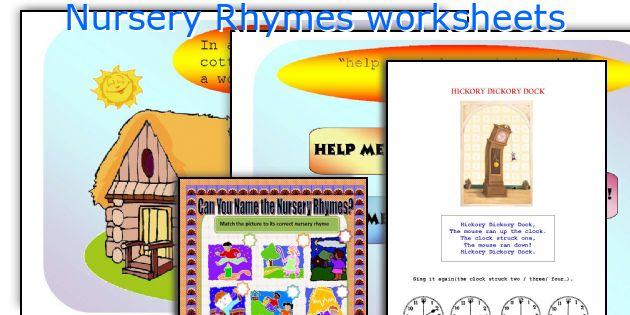 Nursery Rhymes worksheets