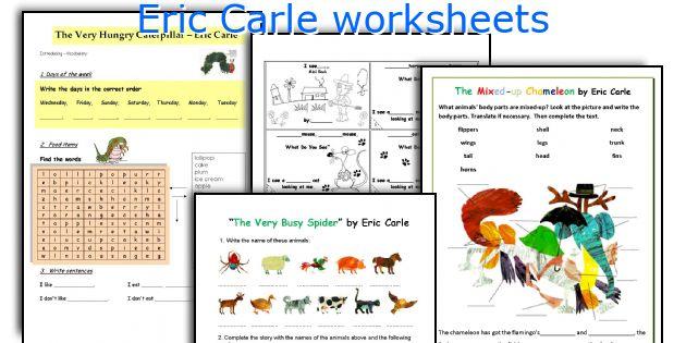 Ericcarleworksheets: Eric Carle Worksheets At Alzheimers-prions.com