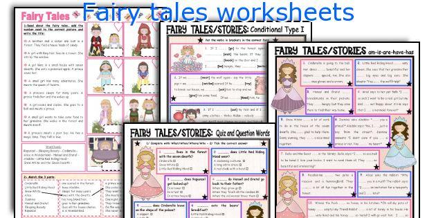 fairy tales worksheets. Black Bedroom Furniture Sets. Home Design Ideas