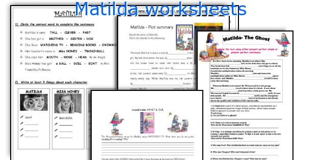 matilda roald dahl book report Matilda's horrible parents think she's an ignorant liar, but in fact she's a genius   want to read more roald dahl books  download roald dahl reading list.