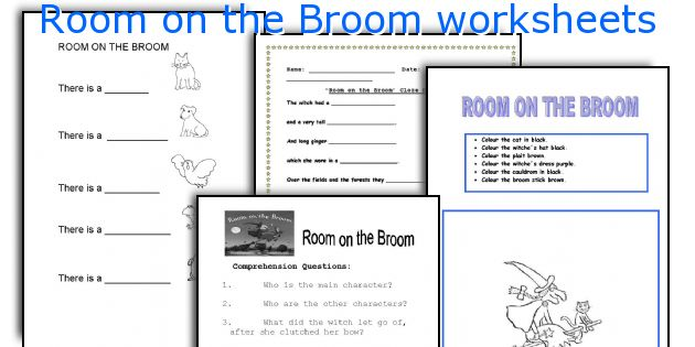 room on the broom worksheets worksheets and activities for teaching