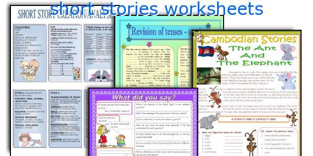 short stories worksheets