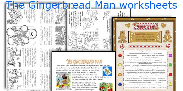 Math Worksheets gingerbread math worksheets : English teaching worksheets: The Gingerbread Man