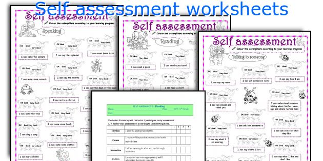 Definition of 'self-assessment'