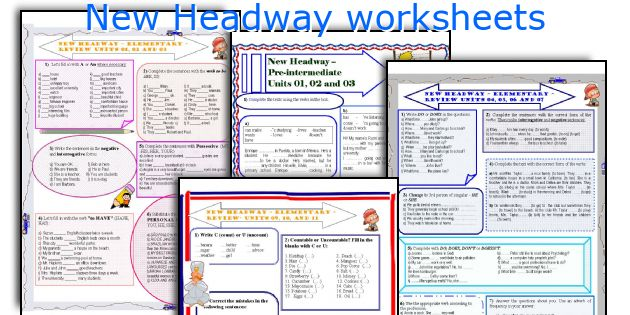New headway worksheets newheadwayworksheetsg fandeluxe Image collections