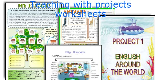 Teaching with projects worksheets