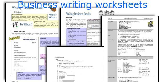 business writing books esl activities